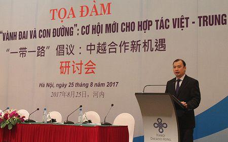 Trien vong hop tac Viet-Trung tu sang kien 'Vanh dai va Con duong' - Anh 3