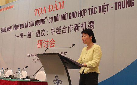 Trien vong hop tac Viet-Trung tu sang kien 'Vanh dai va Con duong' - Anh 4