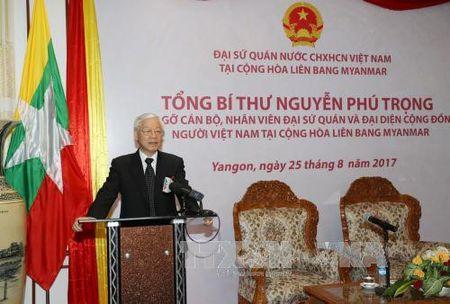 Tong Bi thu tham Dai su quan Viet Nam tai Myanmar - Anh 1