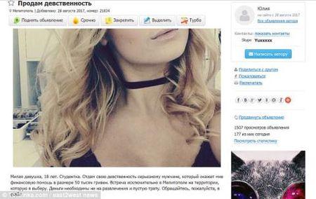 Thieu nu Ukraine rao ban trinh tiet gia 1.500 bang Anh - Anh 1