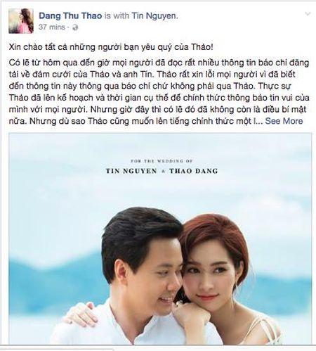 Dang Thu Thao: Hon 1.000 ngay ben nhau cung du de toi 've mot nha' voi nguoi dan ong cua doi minh - Anh 2