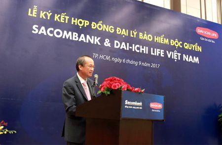 Ong Duong Cong Minh muon 'Win-Win' khi Sacombank 'ket hon' voi Dai–ichi Life Viet Nam - Anh 1