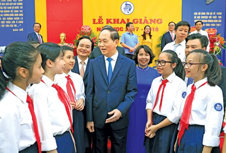 Chu tich nuoc Tran Dai Quang: Giao duc quyet dinh tuong lai dan toc - Anh 2