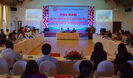 Phat huy gia tri di tich Nha nguc Kon Tum - Anh 1
