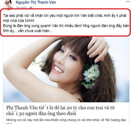 Phi Thanh Van: 'Nguoi dan ong ban linh ay...chua xuat hien' - Anh 2
