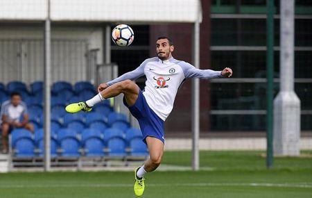 Hazard & Morata tro lai, san tap Chelsea ron rang - Anh 2