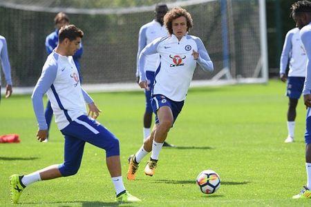 Hazard & Morata tro lai, san tap Chelsea ron rang - Anh 7
