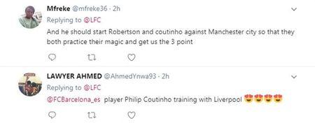 Sau tat ca, Coutinho da xuat hien tren san tap cua Liverpool - Anh 7