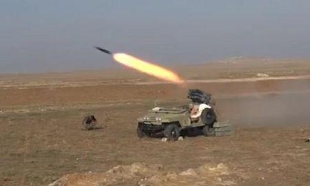 Quan doi Syria tan cong phien quan IS o Tay Deir Ezzor - Anh 1