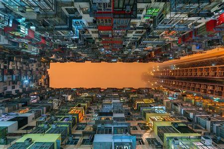 Hinh anh khong the tin ve nha choc troi o Hong Kong - Anh 10