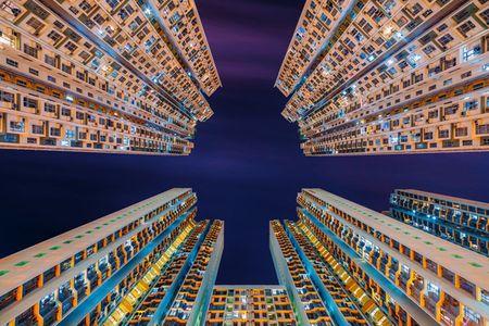Hinh anh khong the tin ve nha choc troi o Hong Kong - Anh 2