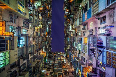 Hinh anh khong the tin ve nha choc troi o Hong Kong - Anh 4