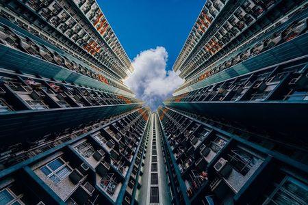 Hinh anh khong the tin ve nha choc troi o Hong Kong - Anh 5