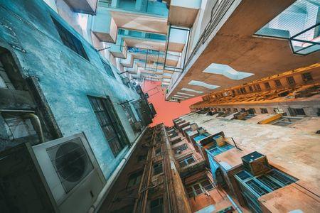 Hinh anh khong the tin ve nha choc troi o Hong Kong - Anh 7