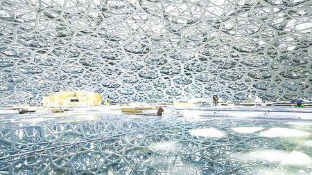 Bao tang Louvre cua Abu Dhabi mo cua vao thang 11 - Anh 1