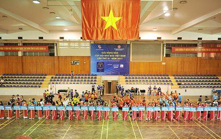 Khai mac Giai Bong ban Cup Hoi Nha bao Viet Nam lan thu XI – nam 2017 - Anh 1