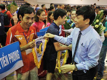 Khai mac Giai Bong ban Cup Hoi Nha bao Viet Nam lan thu XI – nam 2017 - Anh 7