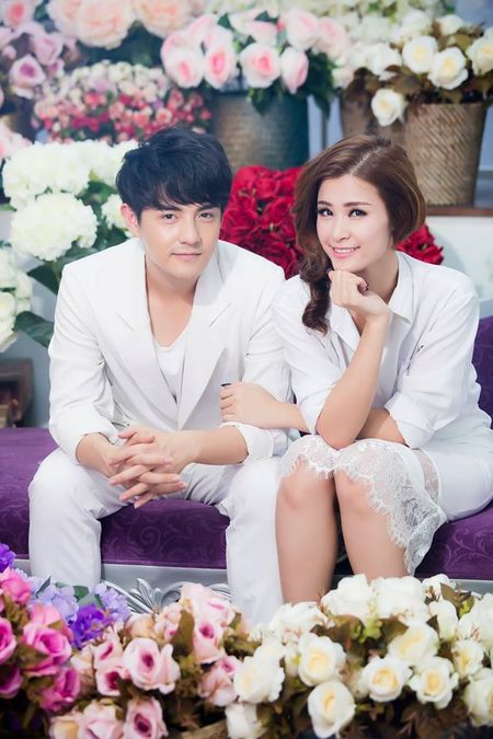 Nhung cap doi duoc fan 'hong' dam cuoi nhat showbiz Viet - Anh 4
