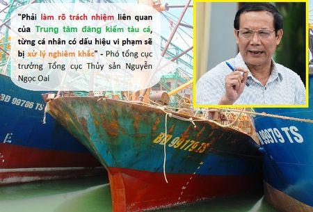 Truy trach nhiem Trung tam dang kiem, trong vu 18 tau ca vo thep hu hong - Anh 1