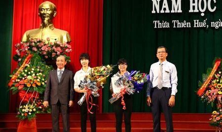 Truong Dai hoc luat - Dai hoc Hue khai giang nam hoc moi - Anh 1