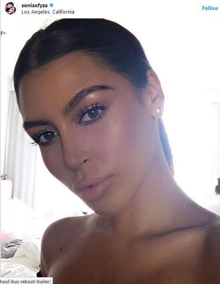 Cap chi em khien dan mang hoang mang vi qua giong Kim Kardashian va Kylie Jenner - Anh 4