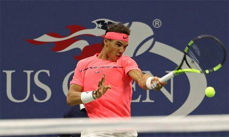 Nadal ha 'hoc tro' trong 96 phut, hen Federer o ban ket - Anh 1