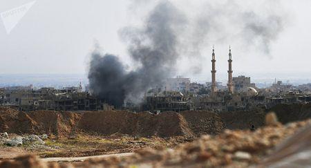 Phe doi lap Syria cam on 'mon qua hoa binh' tu Nga - Anh 1