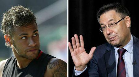 Barca 'thu trong giac ngoai': Neymar cuoi nhao Chu tich - Anh 1
