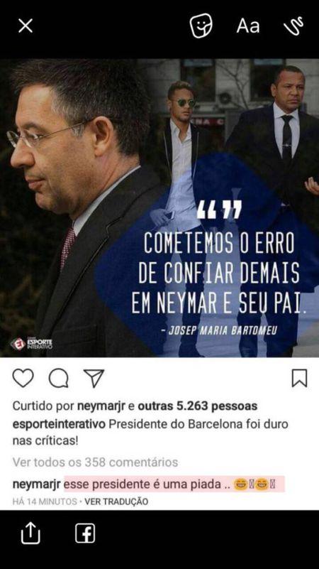 Barca 'thu trong giac ngoai': Neymar cuoi nhao Chu tich - Anh 2