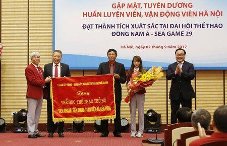 Ha Noi tang Bang khen, thuong moi van dong vien doat Huy chuong vang SEA Games 55 trieu dong - Anh 1