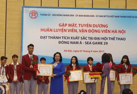 Ha Noi tang Bang khen, thuong moi van dong vien doat Huy chuong vang SEA Games 55 trieu dong - Anh 2