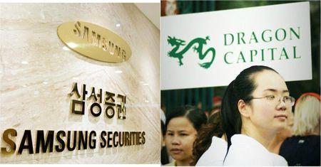 Samsung Securities sap mua 10% co phan cua quy dau tu lon nhat Viet Nam? - Anh 1