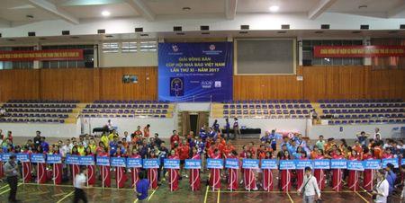 Khai mac Giai Bong ban Cup Hoi Nha bao Viet Nam - Anh 3