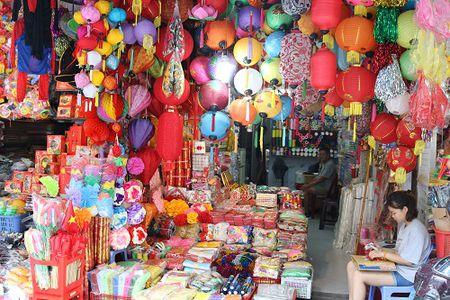 Pho Hang Ma ruc ro sac mau truoc them Tet Trung thu - Anh 1