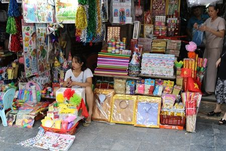 Pho Hang Ma ruc ro sac mau truoc them Tet Trung thu - Anh 8