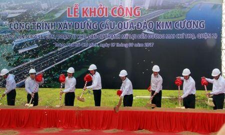 TP HCM khoi cong xay cau 500 ty qua dao Kim Cuong - Anh 1