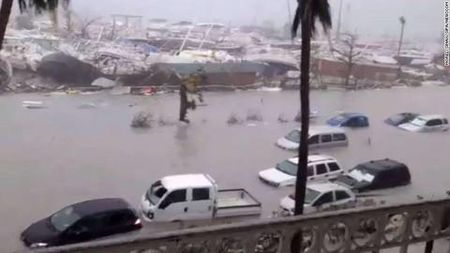 Sieu bao Irma tan pha vung Caribe khien 7 nguoi thiet mang - Anh 2