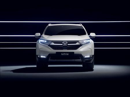 Honda se gioi thieu CR-V Hybrid tai trien lam o to Frankfurt 2017 - Anh 1