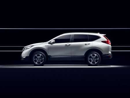 Honda se gioi thieu CR-V Hybrid tai trien lam o to Frankfurt 2017 - Anh 2