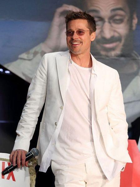 Nhu tro dua: Chua kip mung vi thong tin tai hop, Brad Pitt khien fan 'khoc rong' khi bat ngo day nhanh qua trinh ly hon voi Angelina Jolie - Anh 1