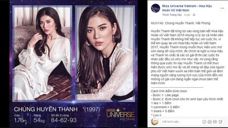 A quan The Face tu tin voi co hoi o Hoa hau Hoan vu Viet Nam 2017 - Anh 2