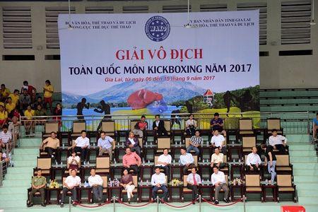 Khai mac Giai Vo dich toan quoc mon Kick Boxing nam 2017 - Anh 1