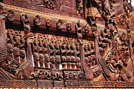 Kham pha Shwenandaw - tu vien bang go Teak - Anh 10