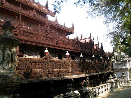 Kham pha Shwenandaw - tu vien bang go Teak - Anh 3