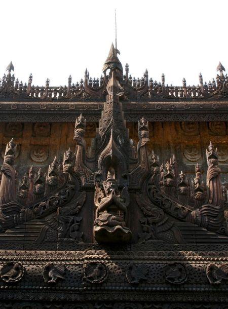 Kham pha Shwenandaw - tu vien bang go Teak - Anh 7
