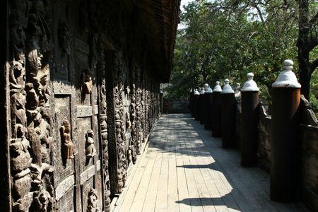 Kham pha Shwenandaw - tu vien bang go Teak - Anh 9