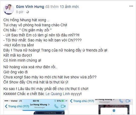 Diva Hong Nhung 'tuc gian', trach moc Dam Vinh Hung vi ly do khong ai co the ngo den nay - Anh 1