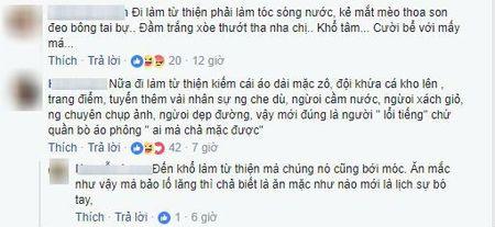 Bi che an mac lo lang khi di tu thien, 'Thanh chui' Trang Tran tuc gian tai xuat khien anti-fan so xanh mat - Anh 4