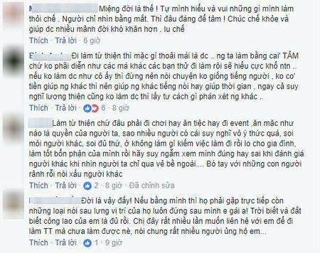 Bi che an mac lo lang khi di tu thien, 'Thanh chui' Trang Tran tuc gian tai xuat khien anti-fan so xanh mat - Anh 5