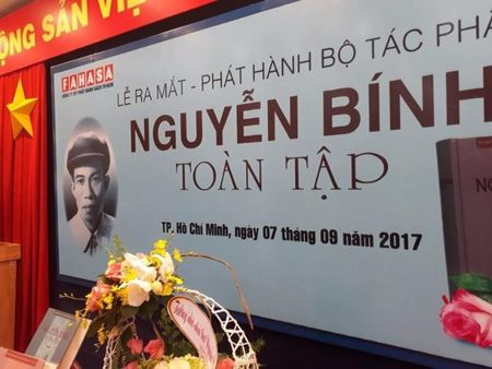 Ra mat Nguyen Binh toan tap nhan 100 nam sinh nhat ong - Anh 1